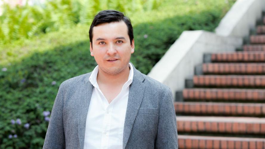 Foto de José Guillermo Calderón cofundador de domicilios.com