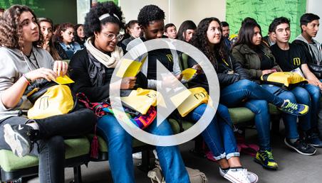 video bienvenida de jóvenes nueva generación de Quiero Estudiar