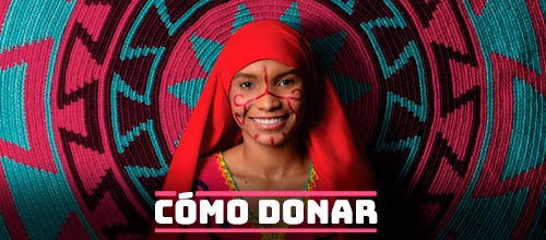 Imagen de una nIña wayuu