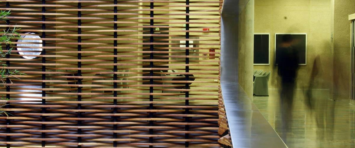 Interior Edificio Julio Mario santo Domingo.