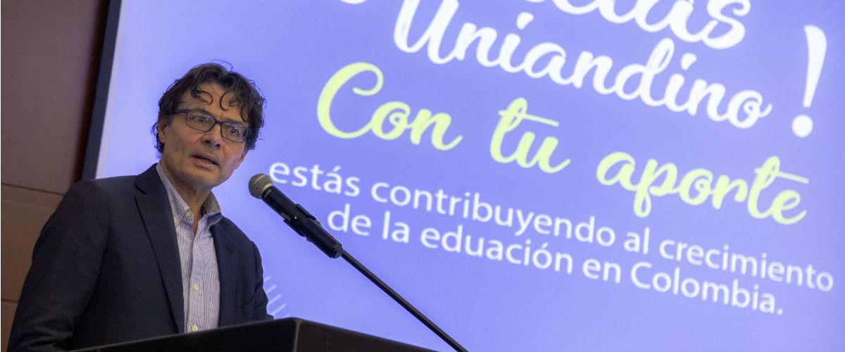 Rector de Uniandes, Alejandro Gaviria.