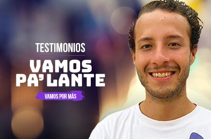 Jhon Steven Contreras Marín- Beneficiario de Vamos Pa'lante