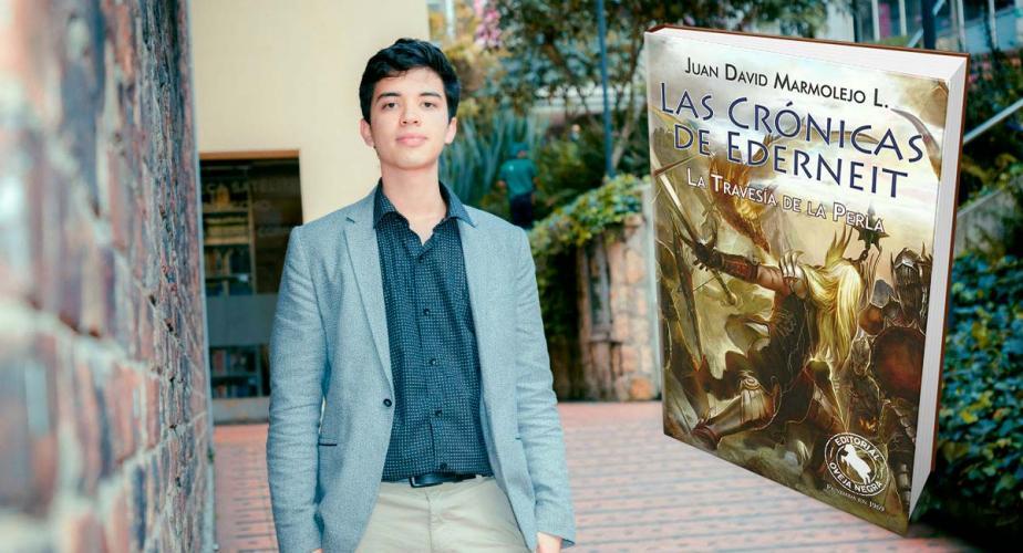 Juan David Marmolejo, estudiante de Física de la Universidad de los Andes.
