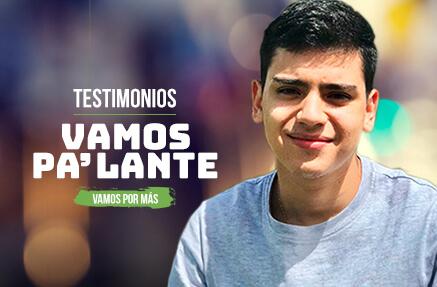 Juan Jaime Rojas Muñoz - Beneficiario de Vamos Pa'lante