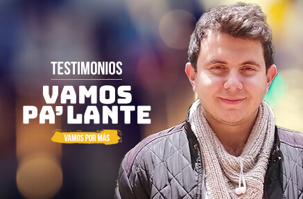 Sergio Andrés Marín Rivera - Beneficiario de Vamos Pa'lante
