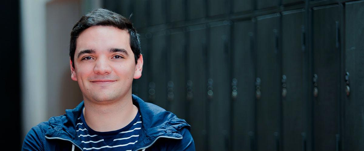 Juan Felipe Alvarado Daza, estudiante de octavo semestre de Ingeniería Química y sexto de Química en la Universidad de los Andes.